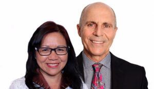Dan Couvrette and Martha Chan